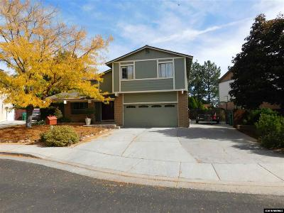 Washoe County Single Family Home For Sale: 1592 Ridgegate