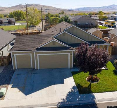 Fernley Single Family Home Price Reduced: 652 Canary Circle