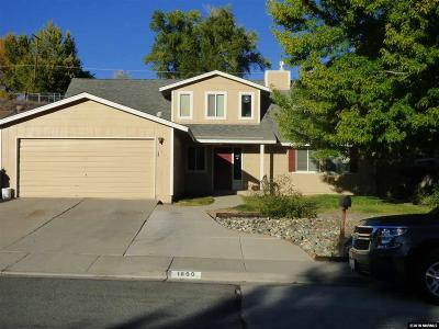 Washoe County Single Family Home New: 1800 Severn