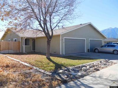 Gardnerville Multi Family Home New: 1412 Kimmerling