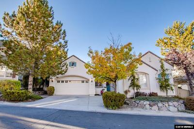 Washoe County Single Family Home New: 1815 Hunter Creek