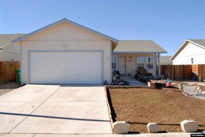 Fernley Single Family Home New: 110 Relief Springs