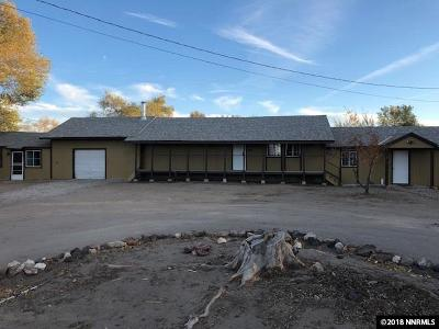 Fernley Single Family Home For Sale: 955 Fremont
