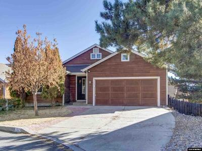 Washoe County Single Family Home New: 1062 Buck Mountain