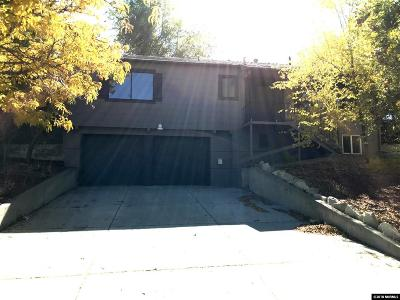 Washoe County Single Family Home New: 1820 Elmcrest Dr