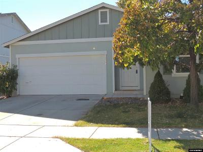 Washoe County Single Family Home New: 7450 Hinton Drive