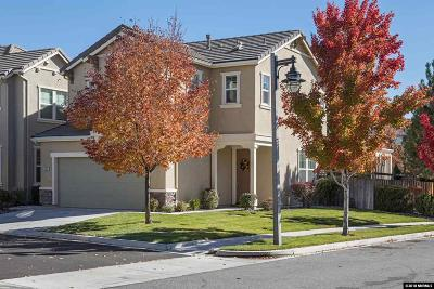 Sparks Single Family Home New: 7027 Sacred Circle #Sparks