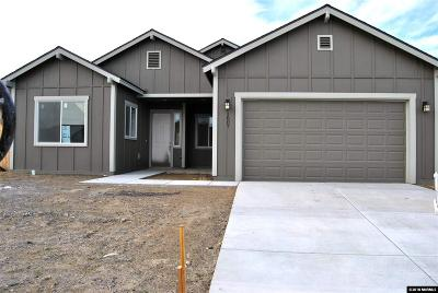 Fernley Single Family Home New: 1807 Canal Dr