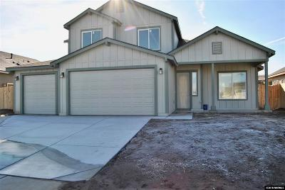 Fernley Single Family Home New: 1787 Canal Dr