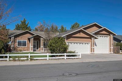 Gardnerville Single Family Home New: 1262 Kyndal Way