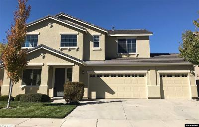 Washoe County Single Family Home Active/Pending-Loan: 10581 Blockade Drive