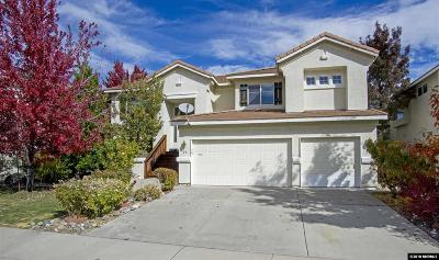 Washoe County Single Family Home New: 58 River Front