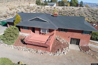 Carson City Single Family Home Active/Pending-Loan: 4949 Quartz Drive