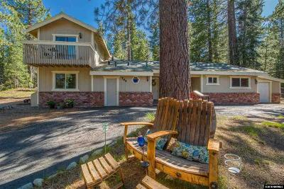 South Lake Tahoe CA Single Family Home For Sale: $515,000