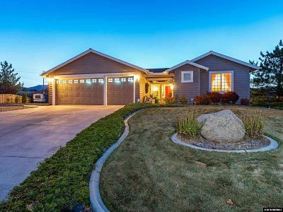 Washoe County Single Family Home New: 15523 Quicksilver