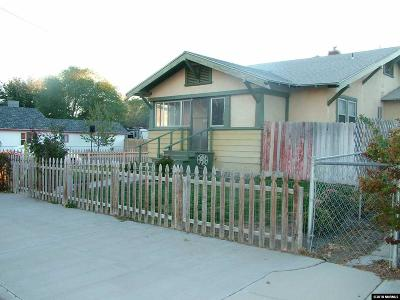 Lovelock Single Family Home For Sale: 1505 Central Ave