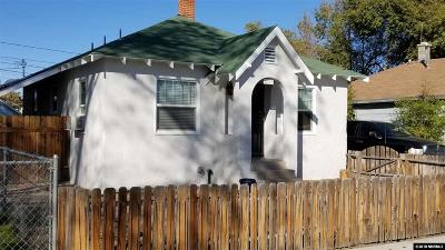 Washoe County Single Family Home New: 1550 H Street