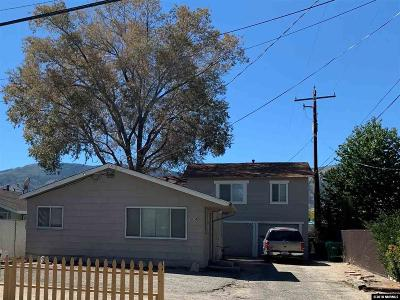 Carson City Multi Family Home For Sale: 1624 N Fall St.