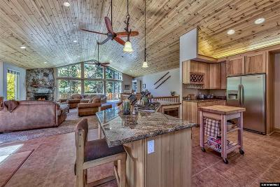 South Lake Tahoe CA Single Family Home For Sale: $1,049,000