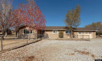 Washoe County Single Family Home New: 10755 Silver Knolls