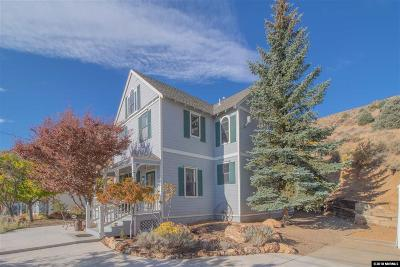 Virginia City Single Family Home For Sale: 120 N Summit St.