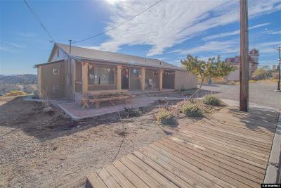 Virginia City Single Family Home For Sale: 465 S C St.