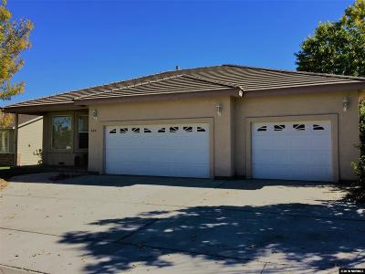 Fernley Single Family Home Active/Pending-Loan: 444 Dog Leg Drive