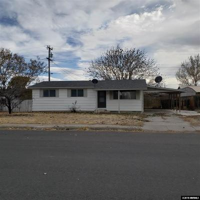 Battle Mountain NV Single Family Home For Sale: $74,900