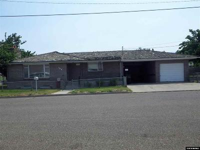 Winnemucca Single Family Home For Sale: 100 E Pleasant Street
