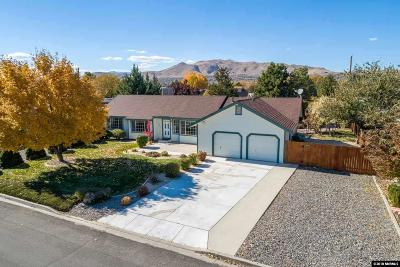 Sparks Single Family Home Active/Pending-Loan: 10645 Palm Springs Drive