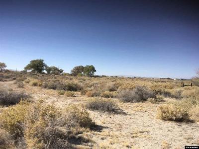 Fallon Residential Lots & Land For Sale: Desert Hills Loop