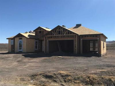 Fernley Single Family Home Active/Pending-Loan: 793 Seabiscuit Drive