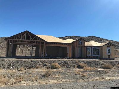 Fernley Single Family Home Active/Pending-Loan: 713 Seabiscuit Drive
