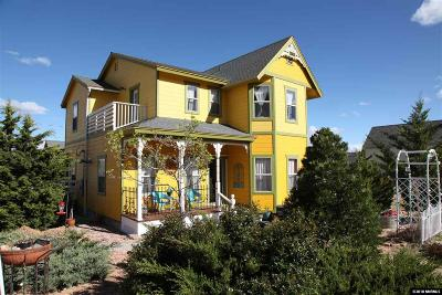 Virginia City Single Family Home For Sale: 225 N O St.