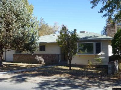 Yerington Single Family Home For Sale: 110 S West