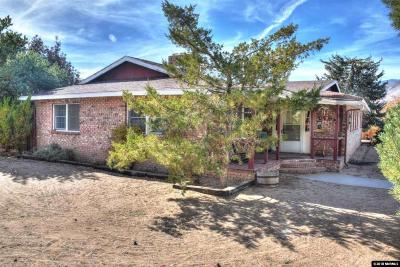 Carson City Single Family Home Price Reduced: 1679 Valley View