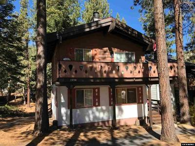 Incline Village Condo/Townhouse For Sale: 1334 Zurich Lane
