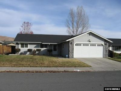 Carson City Single Family Home Active/Pending-Loan: 980 Kennedy Drive