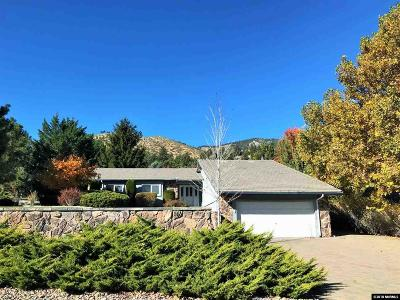 Carson City Single Family Home For Sale: 3100 Upland Ct.