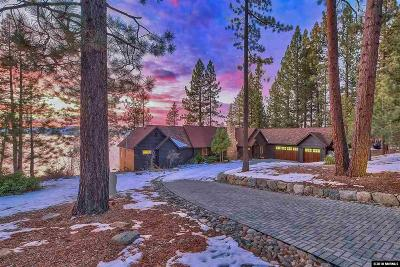 Glenbrook NV Single Family Home For Sale: $10,000,000