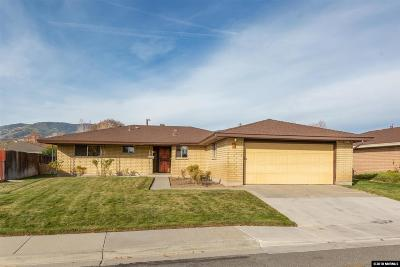 Carson City Single Family Home Active/Pending-Call: 6 Bodie #Drive