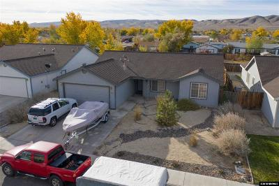 Fernley Single Family Home Active/Pending-Loan: 638 Brook