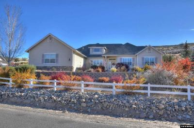 Minden Single Family Home For Sale: 2685 Skyline Dr.