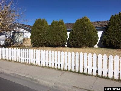 Fallon Single Family Home For Sale: 910 Sunset Drive