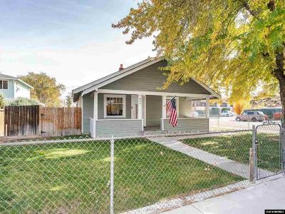 Reno Single Family Home Active/Pending-Loan: 800 Spokane St
