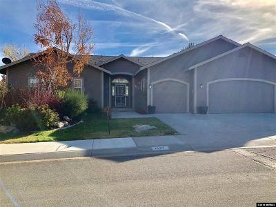 Carson City Single Family Home Back On Market: 1657 Pinoak Lane