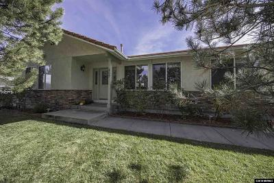 Carson City Single Family Home Price Reduced: 469 Regent Court