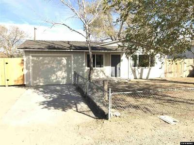 Fernley Single Family Home Active/Pending-Call: 80 E Cedar