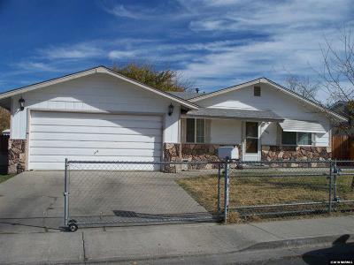Fallon Single Family Home For Sale: 1001 James Ln