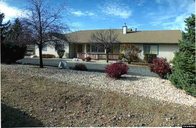 Gardnerville Single Family Home For Sale: 1840 Pinto Circle & Corner Of Colt Lane